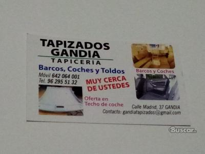 TAPIZADOS GANDIA