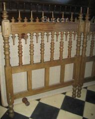 Dormitorio doble cabeceros y mesita