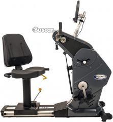 Nueva bicicleta reclinada HCI Fitness PhysioMax y entrenador de cuerpo total UBE