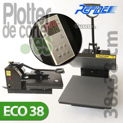 Nueva prensa termica plancha transfer eco38 de 38x38 cms