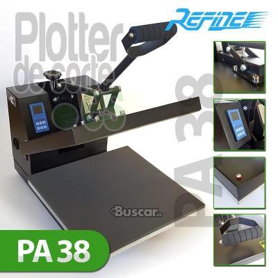 Nueva prensa termica PA38 de 38x38 cms economica