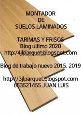 montador de suelos de maderas laminados