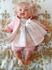 Muñeca rubia ojos azules para niñas